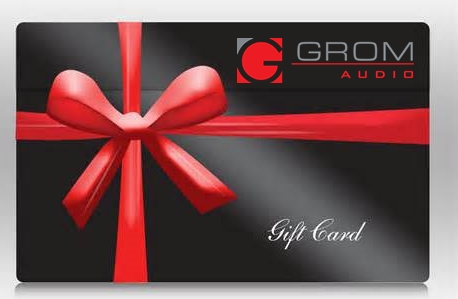 GROM Gift Certificate via PayPal