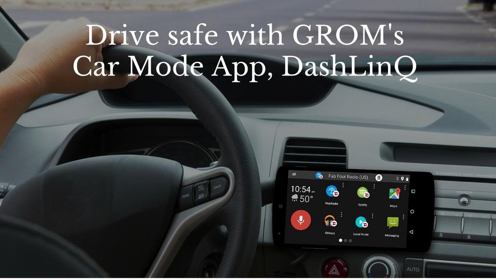 Drive mode app, DashLinQ