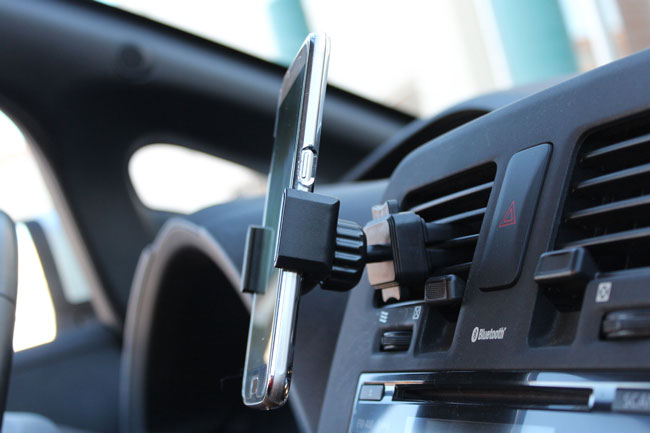 Hands Free Bluetooth Smartphone Car Mount