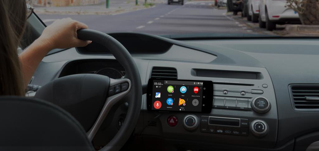 Dashlinq Car Mode Dashboard App