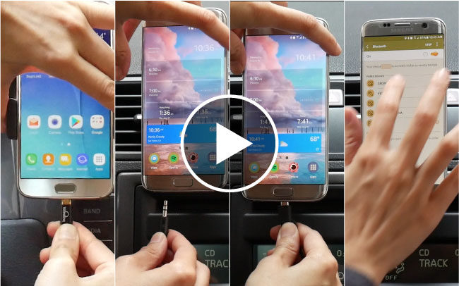 Four ways to connect smartphone to car stereo