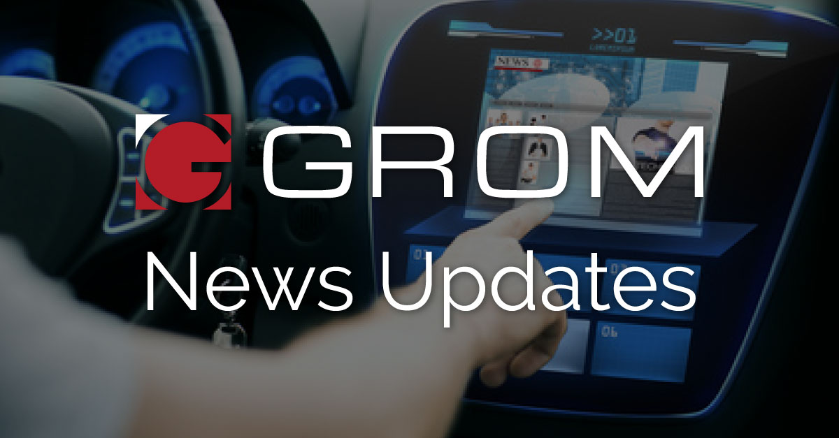 GROM News Updates on the latest in Auto Tech Industries