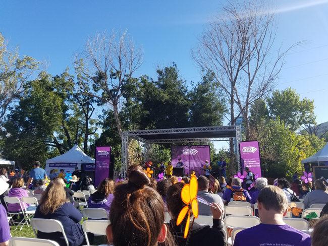Walk to End Alzheimer's Silicon Valley California