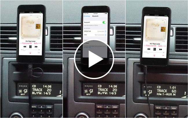 Ways to Connect iPhone to Car Stereo Using Car Adapter Kit