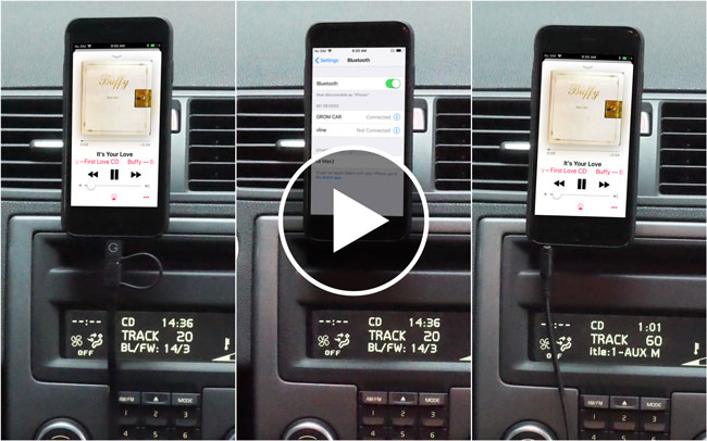 connect iphone to car how to connect iphone to car stereo 5395