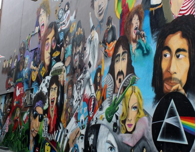 Music Mural Cultures World