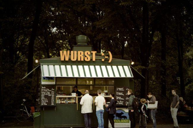 Snack Bar Sandwich Stand