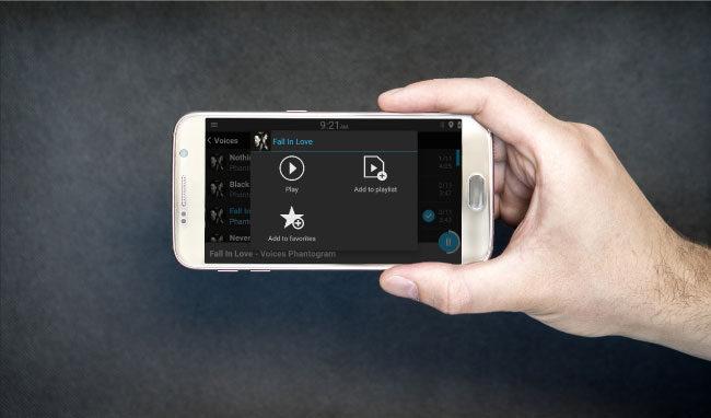 Customizing Spotify via Dashlinq app plugin