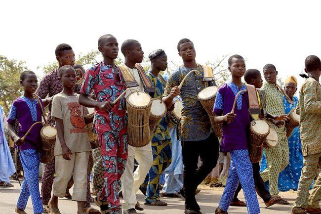 talking drums village walking
