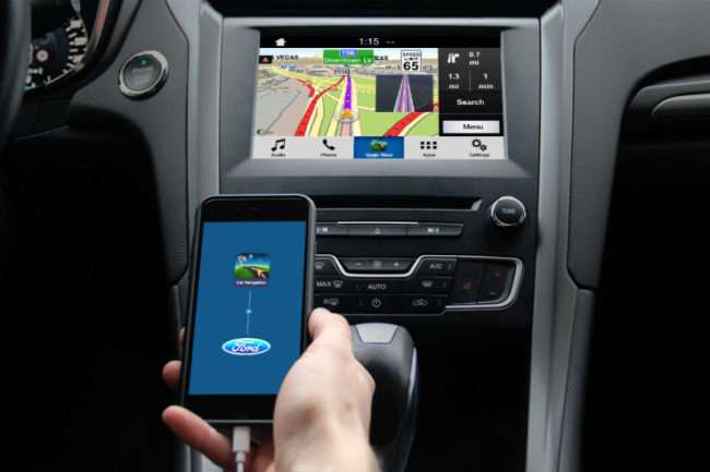 Ford New Driver Assist for Navigation