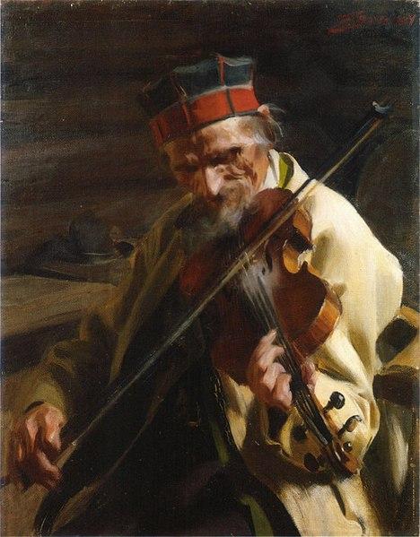 Swedish painting musician music around the world