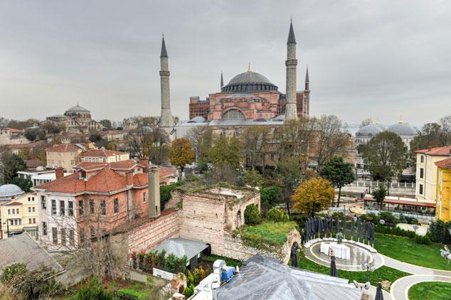 Hagia Sophia Mosque Istanbul, Turkey