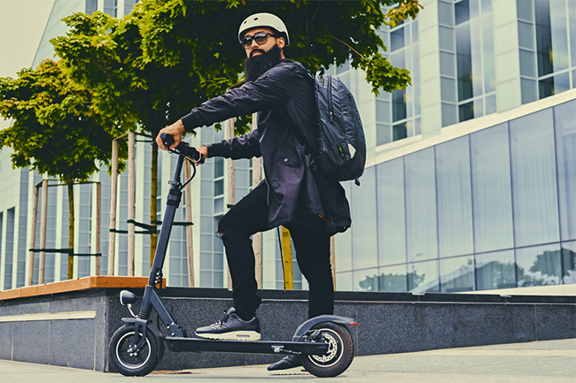 Electrical scooters for urban commute