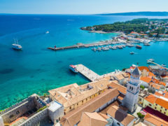 Old Town Krk, Croatia