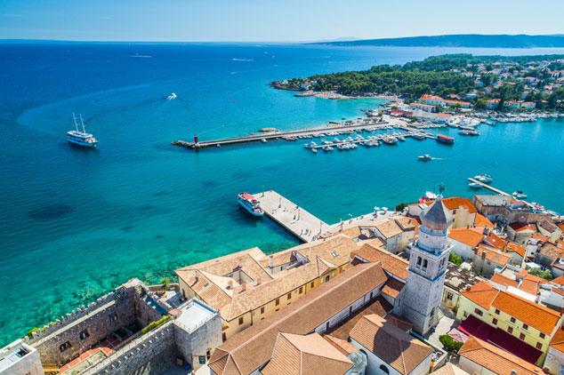 Old Town Krk, Croatia