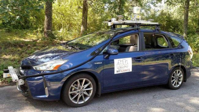 MIT Autonomous vehicle
