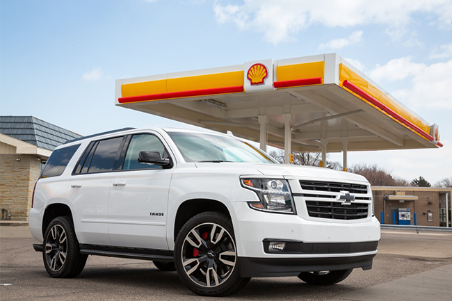 Shell Oil partners with Chevrolette