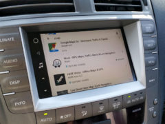 installing Google Play Maps in your car with VLine