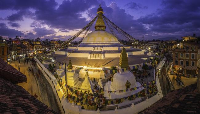 mandala dome nepal