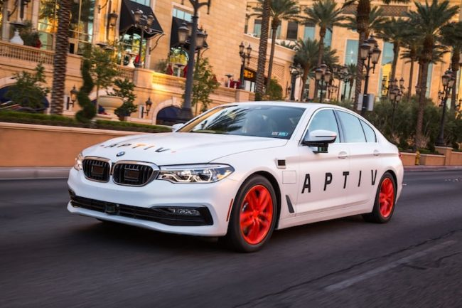 aptiv selfdriving