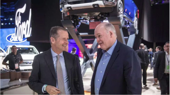 VW and Ford Collaboration