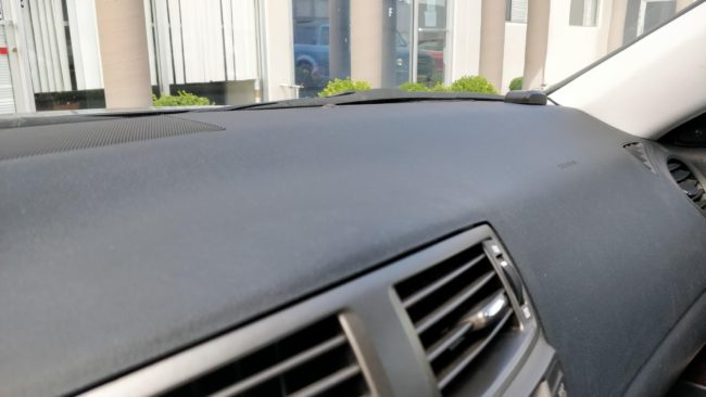 VLien GPS antenna in Lexus vehicle