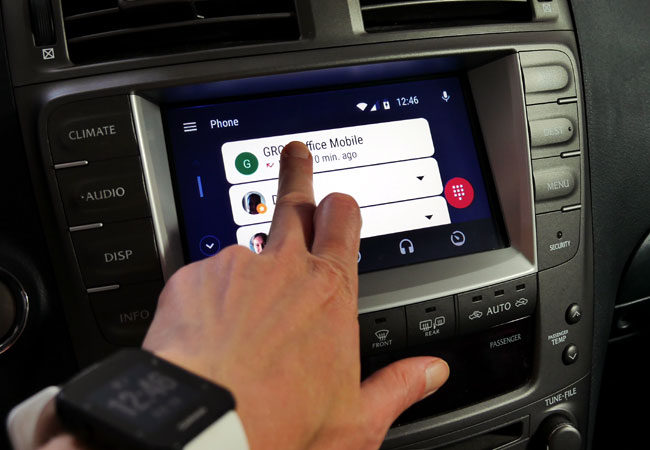 Android Auto in Lexus 2003-2019 with VLine