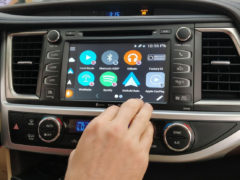 Android Apps running directly on Toyota stereo with VLine