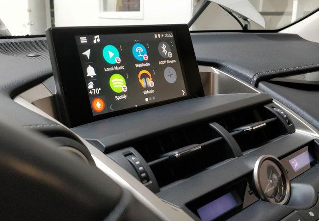 VLine Android Navigation System