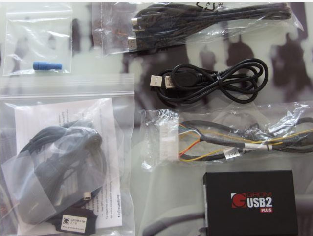 USB Bluetooth Kit into Volvo C70 1998 - package content