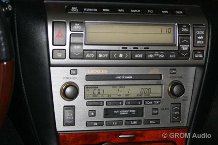 Lexus Sc430 2006 Installation Of Grom Usb