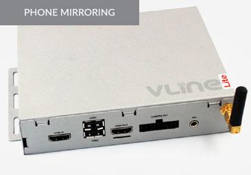 GROM VLine Lite (VLite) Android iPhone Mirroring Car Kit