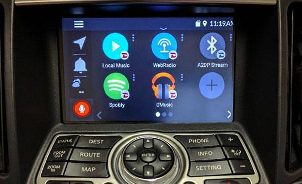 Nissan Infiniti Grom Vline Infotainment System Upgrade