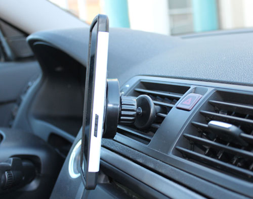 Magnetic Cell Phone Holder for in-car use