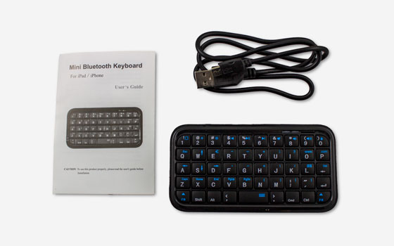 Mini Bluetooth Keyboard for VLine