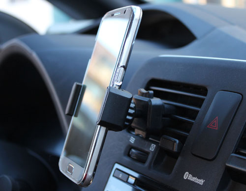 Rotating Cell Phone Holder for in-car use