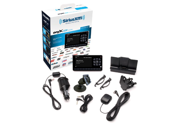 Vehicle SiriusXM Receiver