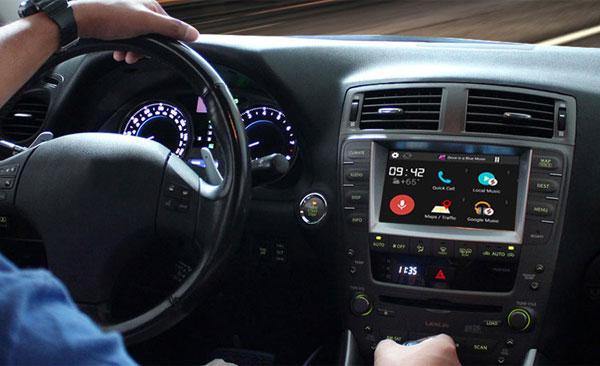 Lexus Toyota Infotainment System Upgrade