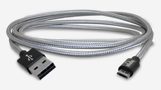 Wirelinq MicroUSB Android Converter Cable