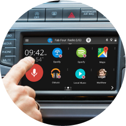 GROM Audio | VLine Connected Car Infotainment System | Maps Apps