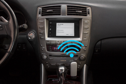 VLine Infotainment System Mobile Hot Spot