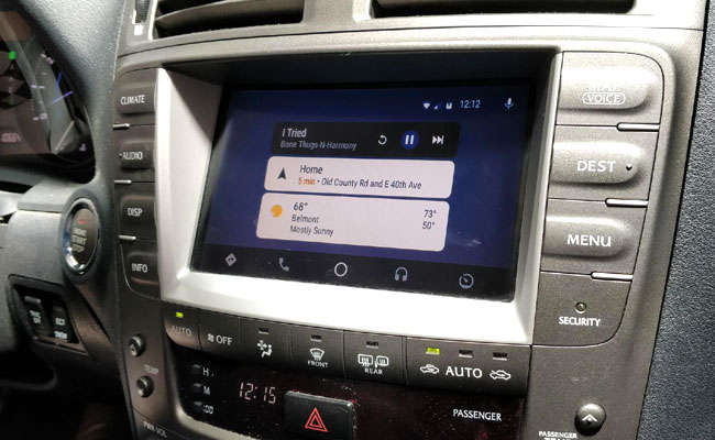 Android Auto will soon be available on VLine