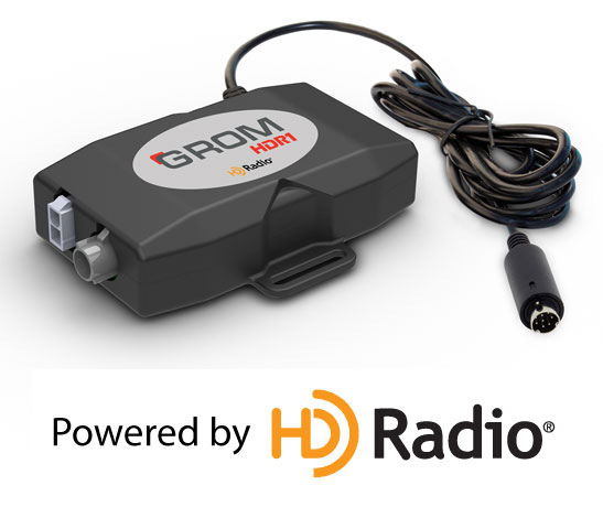 GROM Releases HDR1 - new HD Radio Dongle