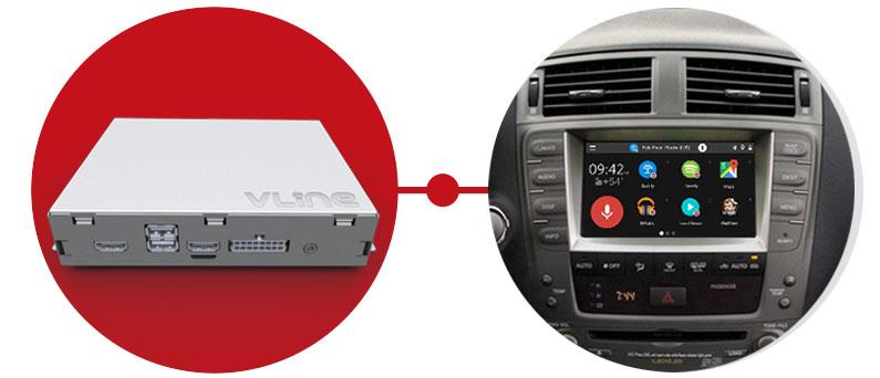 VLine Lexus Toyota Infotainment System Upgrade